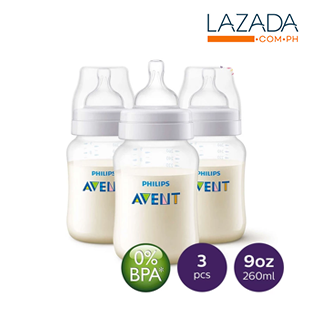 Avent Classic Feeding Bottle 3pc