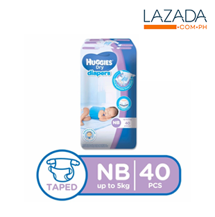 Huggies Dry Diapers NB 40s