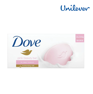 Dove Pink Beauty 3 bars