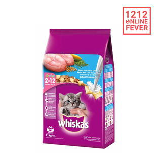 WHISKAS JUNIOR DRY 1.1KG