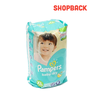 Pampers® Baby Dry Diapers XL 12s