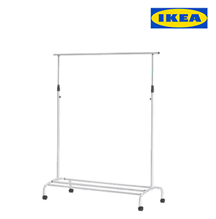 Ikea 2-in-1 Clothes Rack w/ Shoe Rack