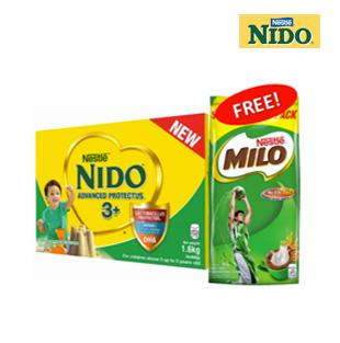 Nido 3+ 1.6kg w/ 1kg Milo