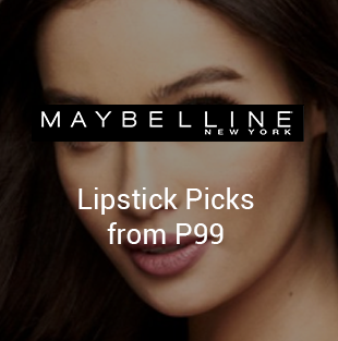 Lipstick on Maybelline
