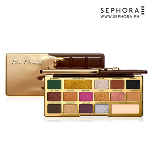Chocolate Gold Metallic/Matte Eye Shadow Palette