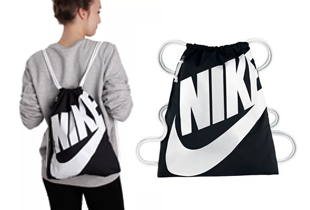 Nike Heritage Gym Sack Backpack on ZALORA