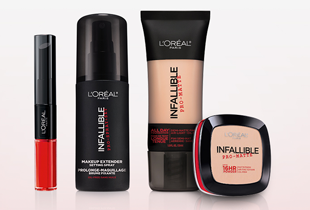 L'Oreal Infallible Collection: From P400