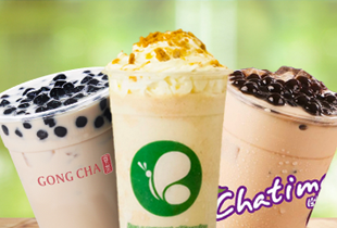 Honestbee Milk tea time: Gong Cha, Chatime, Serenitea