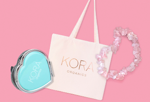 Receive a Gift set form KORA Organics