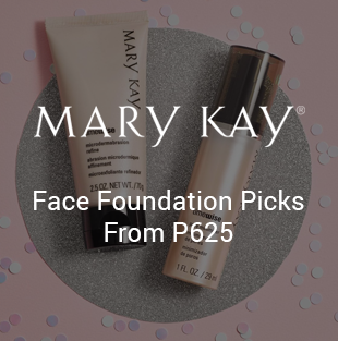 Foundation on Mary Kay
