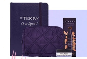 Sephora Promo: Free Terry Pouch Set and an Expert Notebook (Min. spend P4,000 on By Terry products)  with voucher code EXPERTPH