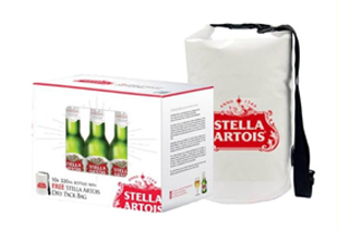 Boozy Promo: Free Dry Bag (with every purchase of Stella Artois 10 pack)