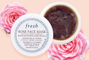 Sephora Promo: Free Mini Fresh Rose Mask (for every purchase on any FRESH rose products)