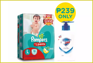order pampers online from lazada save up to 20%