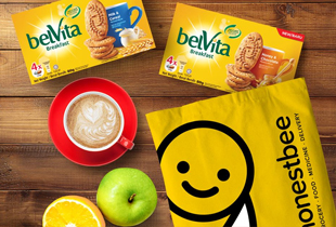 Honestbee Promo: Get a FREE Belvita Honey & Chocolate or Milk & Cereal Box with every Honestbee grocery order (No min. spend)