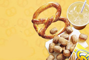 Auntie Anne's Deals and Cashback on Honestbee!