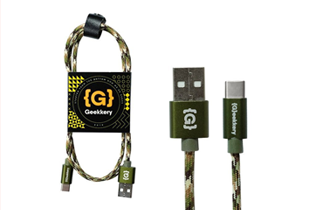 PoundIt Promo: FREE Shipping on all Geekery cables!