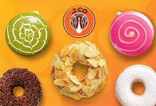 J.CO now delivering through Honestbee + Discounts and Cashback!