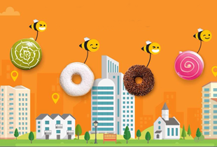 Honestbee Coupon: FREE delivery on J.co donuts!