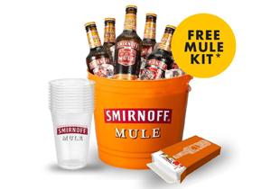 Boozy Promo: Get a FREE Mule Fest House Party Kit when you buy Smirnoff Mule Bucket!