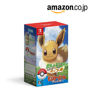 Eevee PokeBall Plus Set