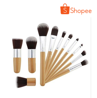 11pcs. Bamboo Brush Set