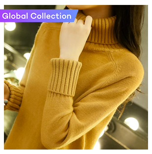 Knitted Loose Pullover