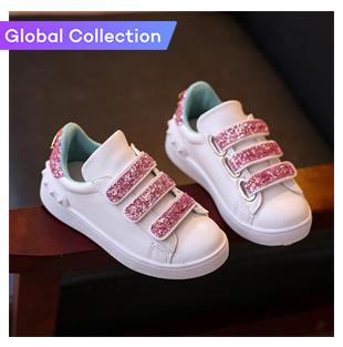 Children White Shoes