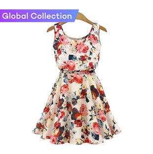 Novelty Dresses Round Neck