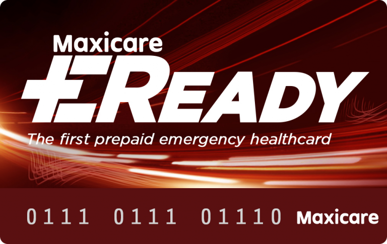 Avail of a medical emergency prepaid health card with Maxicare EReady
