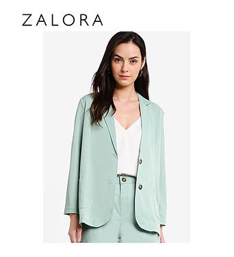 ZALORA Co-ord Notched Lapel Blazer