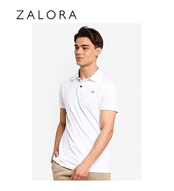 Hollister Slim Pop Icon Polo Shirt