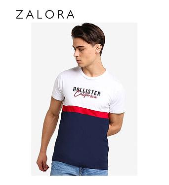 Hollister Core Tech Small Scale Block T-Shirt