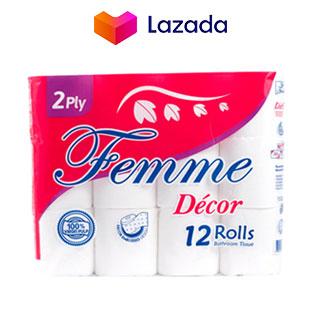 Femme Décor Bathroom Tissue