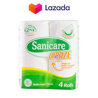 Sanicare Upsize Bathroom Tissue 2ply