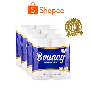 Bouncy Bathroom Tissue 3 Ply