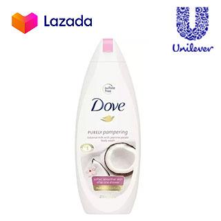 Dove Body Wash Coconut Milk