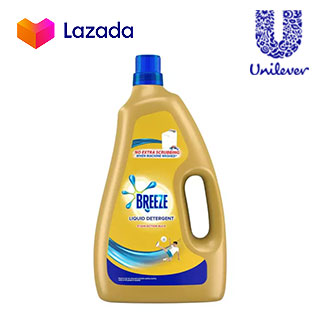 Breeze Liquid Detergent Stain Action