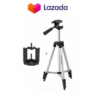 Portable Camera Tripod with Mobile Clip